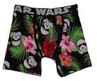 Star Wars Stormtrooper Floral Black Red Green White Mens Boxer Briefs Boxers NWT