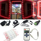 US Brightest Store Front LED Window Light Module with US power supply + Remote