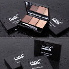 3Colors Eyebrow Powder Eye Shadow Palette Smoky Eyes Makeup