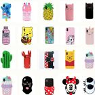 New 3D Cute Cartoon Girls boys Soft Silicone case for iPhone 678 Plus XS Max XR