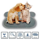 PawDesign Premium Quality Pet Food & Water Bowl Feeding Mat for Dogs and Puppies
