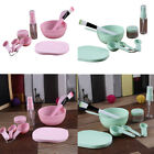 Beauty DIY Facial Mask Bowl Mixing Brush Tool Makeup Spoon Face Stick Set 9 in1