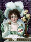Drink Coca-Cola 5 Cents 1890 Vintage Beverage Soda Pop Poster Reproduction $33.99  on eBay