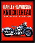 Harley-Davidson Knucklehead Motorcycle Vintage Advertising Poster Reproduction $49.17 CAD on eBay