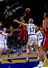 Allen Iverson Philadelphia 76ers Passing Autographed Laminated Poster Print. on eBay