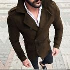 Herren Jacke Blazer Trenchcoat Outdoorjacke Parka Wintermantel Business Sakko