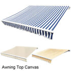 Awning Top Canvas Sunshade Patio Garden Canopy Cover Outdoor Shelter Shade UVray