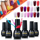 FairyGlo UV LED Gel Nail Polish Soak Off Color Top Base Coat