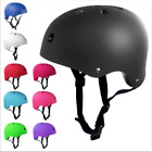 Bicycle Cycle Bike Scooter BMX Skateboard Skate Stunt Bomber Black Helmet US