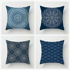 Vintage Cushion Cover Sofa Bed Throw Pillow Case Home Decoration Mandala Pattern