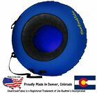 """Внешний вид - Choose Your Own Color! ClearCreekTubes 44"""" Inflated Snow Tube Combo Blue Bottoms"""