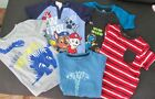 5 Little Boys Tops T-Shirts Okie Dokie Falls Creek Nickelodeon Size 5T Lot