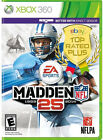 Madden NFL 25 Microsoft Xbox 360 2013 video game collectible x box360 games lot