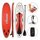 11FT/10FT SUP Inflatable Stand Up Surfing Board Soft Surf Paddle Board with Bag