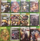 12 X-Box 360 Games Street Fighter, Mortal Kombat, Call Of Duty, DC Universe
