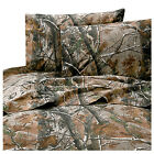 Realtree All Purpose Sheet Set Camo Various Sizes With FREE Shipping