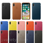 Original Leather Protective Case For Apple iPhone X Genuine Authentic OEM Cover