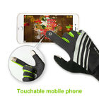 Full Finger Racing Motorcycle Glove Bike Riding Cycling Touchscreen Gloves US1