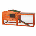 """Trixie Natura Animal Hutch with Outdoor Run, 61"""" L X 20.75"""" W X 27.5"""" H"""
