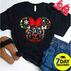 Mickey Disney Joy to the World Happy Christmas Shirt Xmas Holiday Merry Christma