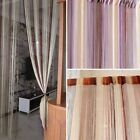 String Window Curtain Colorful Room Door Divider Scarf Valances Panel Home Decor