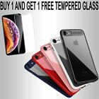 Luxury Auto Focus Hybrid Clear Shockproof Case Cover For Apple iPhone X 7 8 Plus
