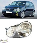 VOLKSWAGEN POLO 9N 2001- 2005 NEW FRONT HEADLAMP LEFT N/S PASSENGER LHD