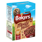 NEW Bakers Meaty Meals Small Dog,adult, puppy  Food Beef,  1 kg - Pack of 3