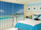 Grass Sea Cover Sheds 3D Curtains Blockout Photo Printing Curtains Drape Fabric