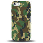 Camo Design Phone Case Cover | Green Marine Army Camouflage Pattern Design B708