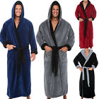 Внешний вид - Men's Lengthened Plush Shawl Bathrobe Home Casual Long Sleeved Robe Coat Plus