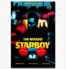 "Art The Weeknd Starboy Daft Punk Rap Music Poster -24x36"" 27"" P-364 for sale  China"
