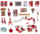 Naughty Elf Accessories Prop Xmas Put On Shelf Ideas Toy Home Tree Decoration