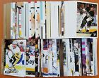 Pittsburgh Pengins Hockey Card Lot - 150 Different Cards 2007/08 thru 2018/19