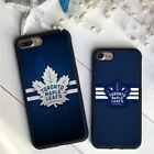 Toronto Maple Leafs NHL Hockey Silicone Case Cover For iPhone 7 8 X  XR XS Plus $8.75 USD on eBay