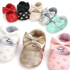 Baby Girl Newborn Infants Soft Crib Shoes Anti-slip Sneaker Prewalker 0-18M