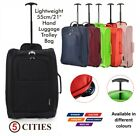 Hand Cabin Luggage Trolley Wheeled Flight Bag Suitcase Approved easyjet & More