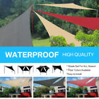 Sun Shade Sail Canopy Patio Garden Awning Shelter With Free Rope 10 Sizes IN BO