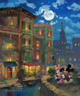 "8x12"" Disney ""Moonlight Romance"",HD Canvas print Art painting (No frame)"