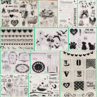 Horse Bird Transparent Silicone Clear Stamps DIY Scrapbook Embossing Paper Card