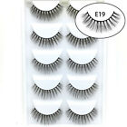 Natural Looking Fluffy Extension Tools 3D Mink Hair Wispy Long False Eyelashes