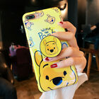 For iPhone XS Max XR 6 7 8 Plus Cartoon Disney Case Cover & Stand Holder Bracket