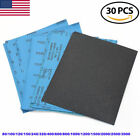 9 x11 in Wet Dry Sandpaper Sheets 80 100 120 150 240 320 400 600 2500 3000 Grits