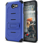 LG Aristo / LG K4 (2017) Case, Dual Layer Shock Resistant Case with Kickstand