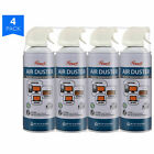 Compressed Gas Air Duster, 10 oz Computer Keyboard Cleaning Spray (1 - 4 Pack)