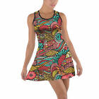 Colors in Flight Cotton Racerback Dress XS - 5XL