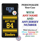 Pittsburgh Steelers A18 Personalized Football Phone Case Cover Fits Samsung etc.