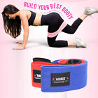 Hip Glute Resistance Circle Band Squat Booty Yoga Pilates Body Built Thigh Strap image