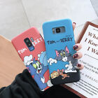 Cartoon Tom and Jerry Cute Soft Case For Samsung Galaxy S8 S9 S10 Plus Note 8 9