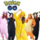 Pokemon Unisex Adult Onesie10 Cosplay Pajamas Kigurumi Costume Animal Fancy Dres